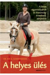 A helyes ülés /A lovas egyensúlyának és biztonságérzetének elnyerése