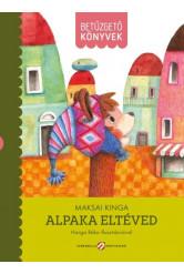 Alpaka eltéved - Betűzgető könyvek