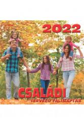 Családi tervező falinaptár 2022