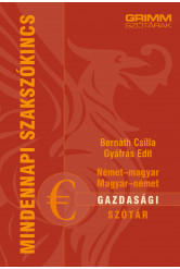 Német-magyar, magyar-német gazdasági szótár